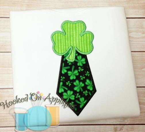 Shamrock Tie Applique