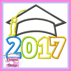 2017 Grad Cap 2 Applique