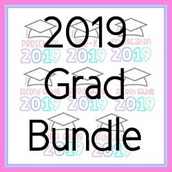 2019 Grad Bundle Applique