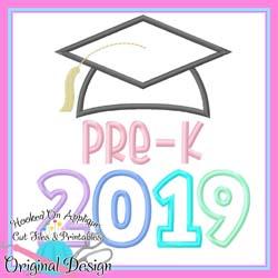 2019 Pre K Grad Applique