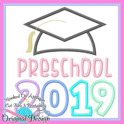 2019 Preschool Grad Applique
