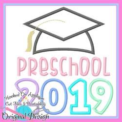 2019 Preschool Grad Applique