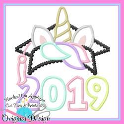 2019 Unicorn Grad Applique