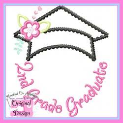 2nd Grade Graduate Applique