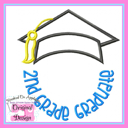 2nd Grade Graduate 2 Applique
