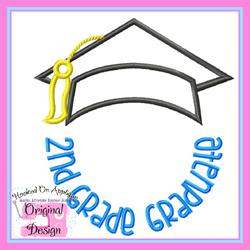 2nd Grade Graduate 2 Applique