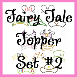 Fairy Tale Topper Set 2