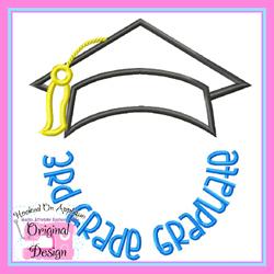 3rd Grade Graduate 2 Applique