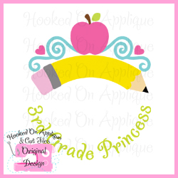 3rd Grade Princess CUT FILE