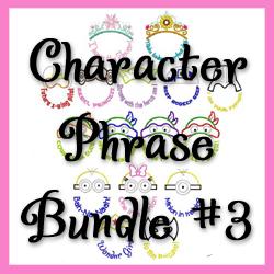 Character Phrase Bundle 3
