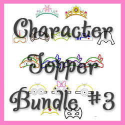 Character Topper Bundle 3