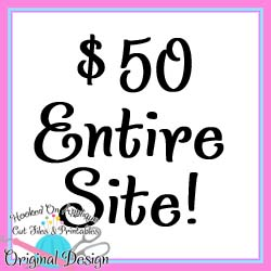 $50 Entire Website Collection