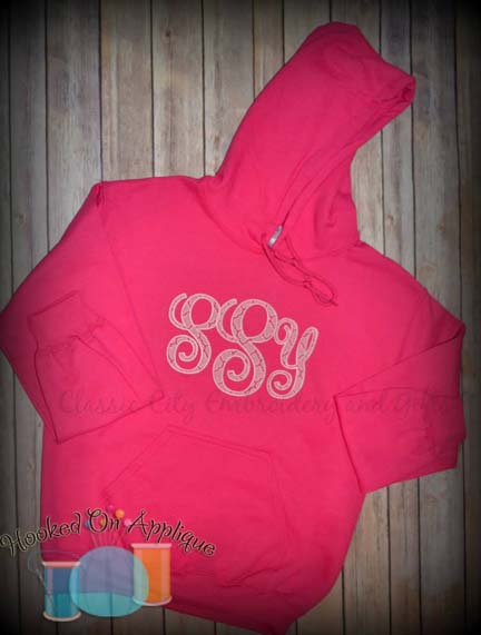 Monogram KK Satin Alpha