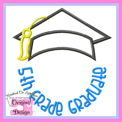 5th Grade Graduate 2 Applique