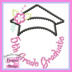 5th Grade Graduate Applique