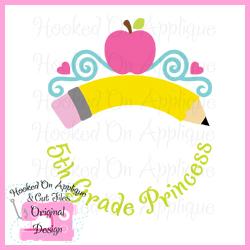 5th Grade Princess CUT FILE