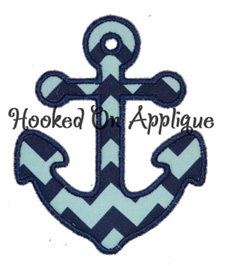 Anchor 2 Applique