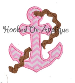 Anchor Rope Applique