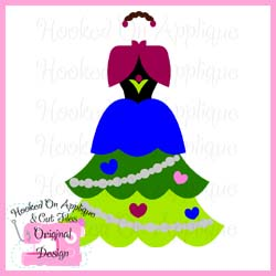 Anna Tree Dress CUT FILE