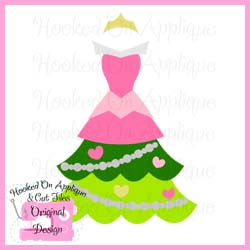 Aurora Tree Dress CUTFILE