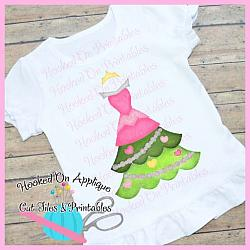 Aurora Tree Dress PNG Printable