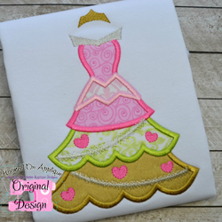 Aurora Tree Dress Applique