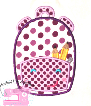 Backpack Applique