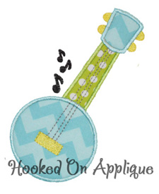 Banjo applique