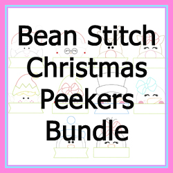 Christmas Peekers Bean Stitch Bundle