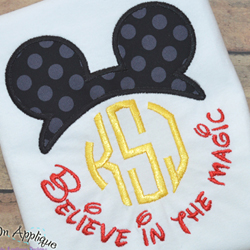 Believe in the Magic 2 Applique
