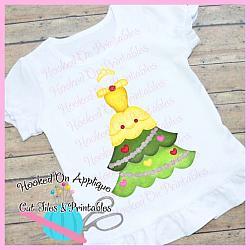 Belle Tree Dress PNG Printable