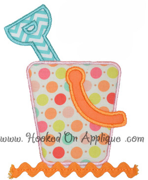 Sand Pail Applique