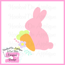 Bunny Carrot Flower CUT FILE