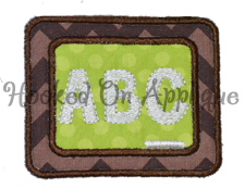 Chalkboard Applique