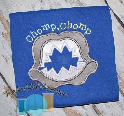 Chomp Chomp Applique
