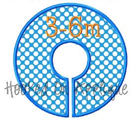 Circle Closet Dividers Design- ITH