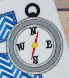Compass Applique