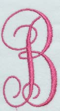 Monogram KK Embroidery Font