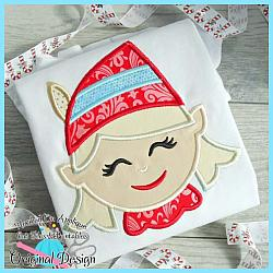 Elf Girl Applique
