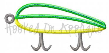 Fishing Lure Applique