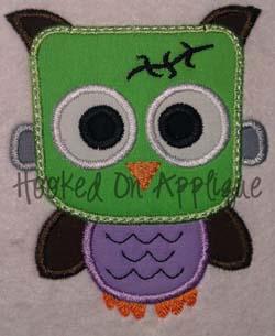 Franken Owl Applique
