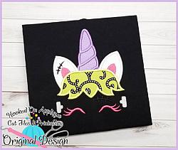 Franken Unicorn Applique