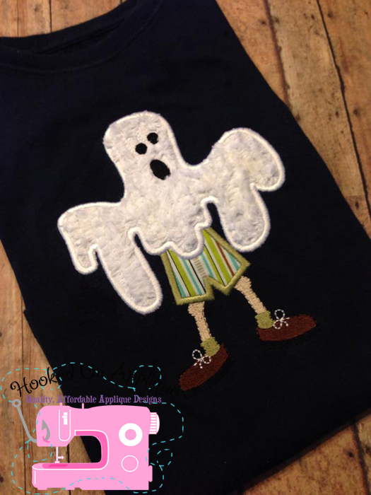 Ghost Boy Applique