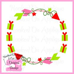 Gift Arrow Circle CUT FILE