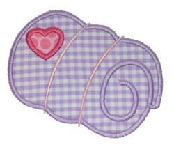 Girly Sleeping Bag Applique