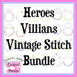 Heroes Villains Vintage Bundle