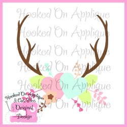Hearts Antlers CUT FILE