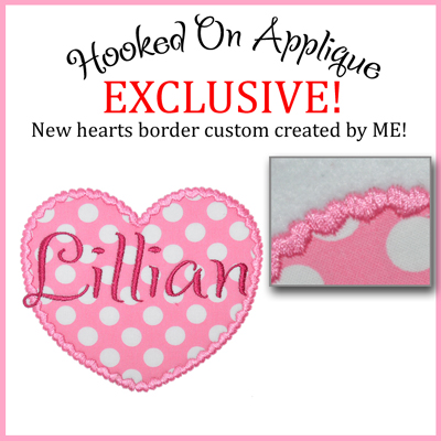 Heart of Hearts Applique