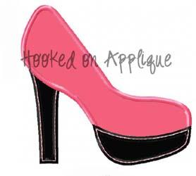 High Heel Applique