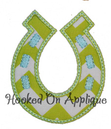 Horseshoe applique